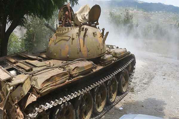ارتش سوریه تروریستهای النصره را در حومه ادلب عقب راند