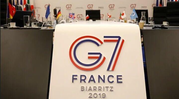 بیانیه کاخ الیزه درباره تغییر ایجاد شده در نشست سال جاری جی7
