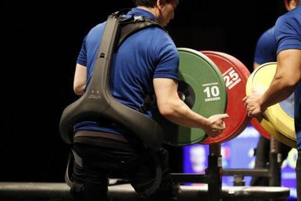 اگزواسکلتونی که در مسابقات پارالمپیک حضور پیدا می نماید