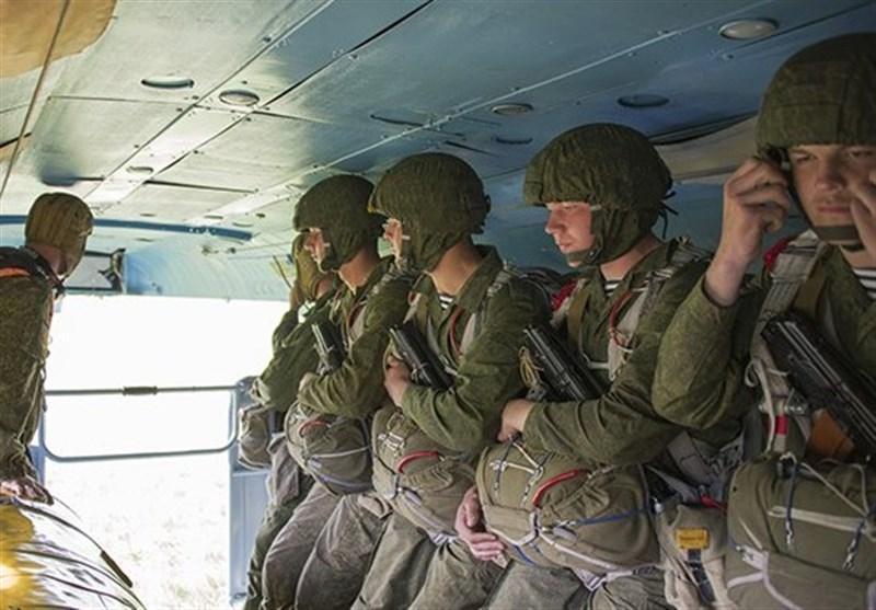 رزمایش تفنگداران ناوگان اقیانوس آرام روسیه