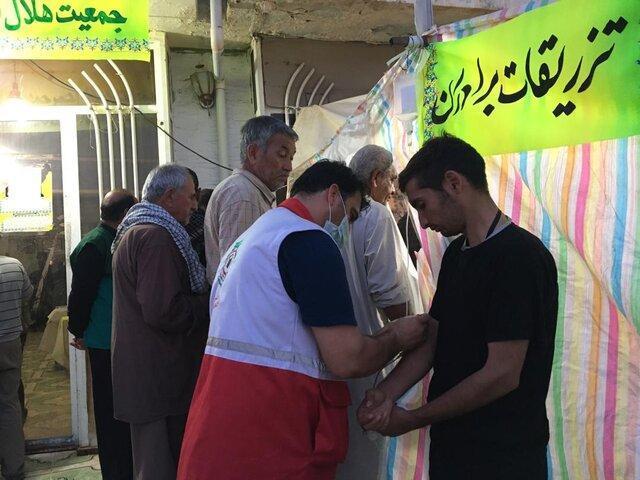 امداد رسانی هلال احمر ایلام به 41 هزار و 787 حادثه دیده