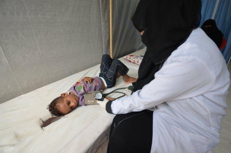 913 نفر در یمن بر اثر ابتلا به وبا کشته شدند