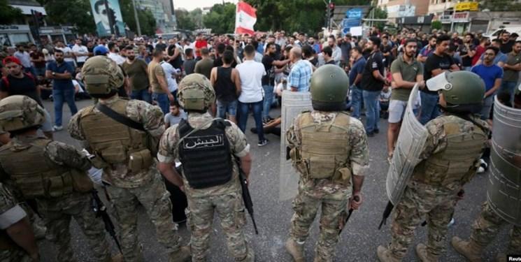 استقرار ده ها نیروی ارتش در اطراف کاخ ریاست جمهوری لبنان