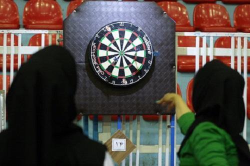 مسابقات دارت دانشجویان دانشگاه رازی کرمانشاه برگزار گردید