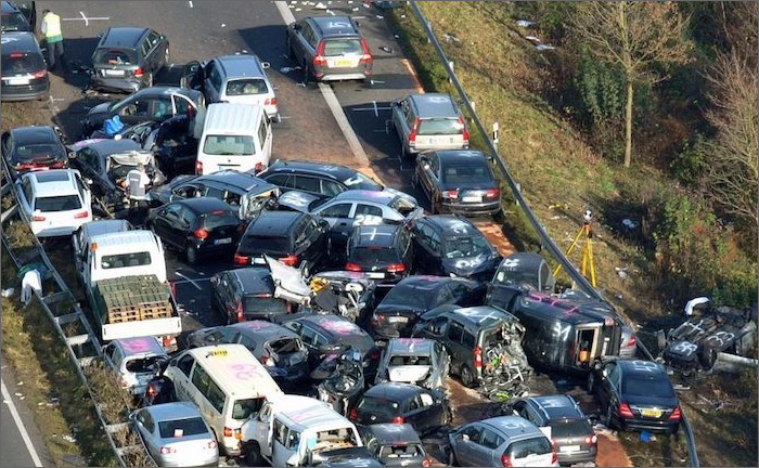 تصادف های جاده ای به یاری فناوری فضایی کاهش می یابد