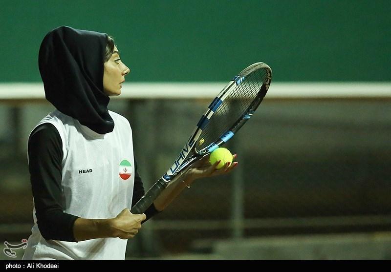 غزاله ترکمن؛ صدرنشین رنکینگ تنیس ایران