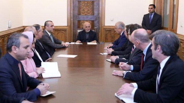 آتش بس محور گفت وگوی خلیل زاد با رهبران افغانستان در کابل