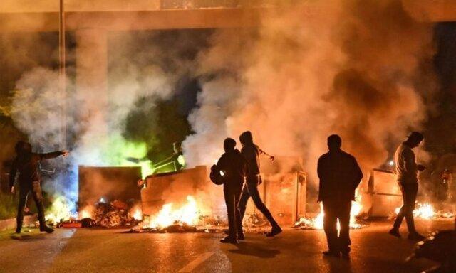 تظاهرات لبنانی ها علیه نخست وزیری حسان دیاب، معاون پامپئو در بیروت