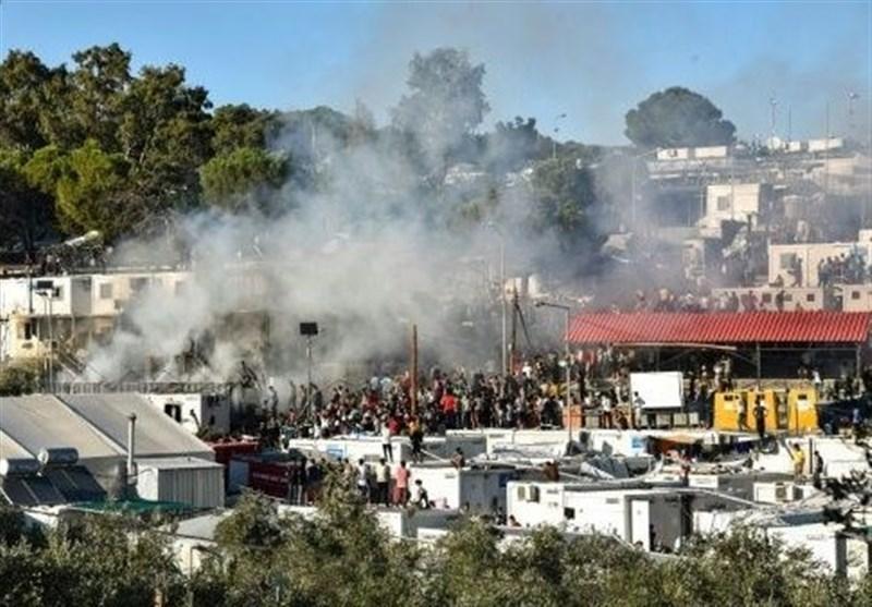 اعتراض گسترده ساکنان جزایر یونان علیه سیاست های پناهندگی دولت