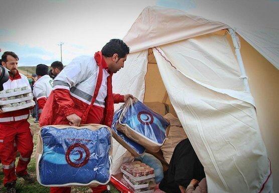ارسال دومین محموله امدادی هلال احمر خراسان جنوبی به سیستان