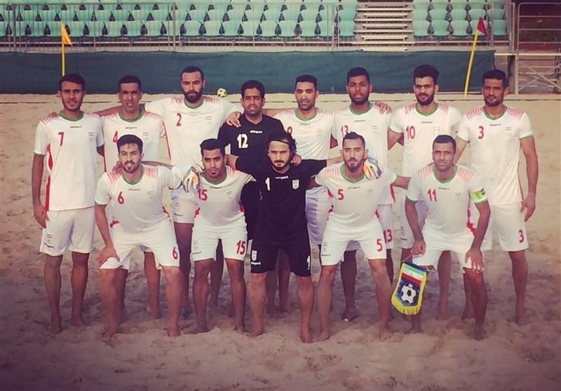 پیروزی تیم ملی فوتبال ساحلی ایران مقابل عمان در دیداری تدارکاتی