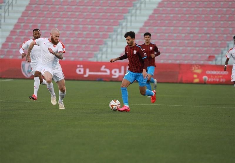 جام حذفی قطر، صعود تیم پورعلی گنجی به مرحله نیمه نهایی
