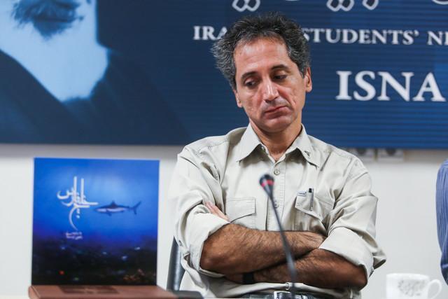 مشق کردن خلیج فارس توسط یک ایرانی