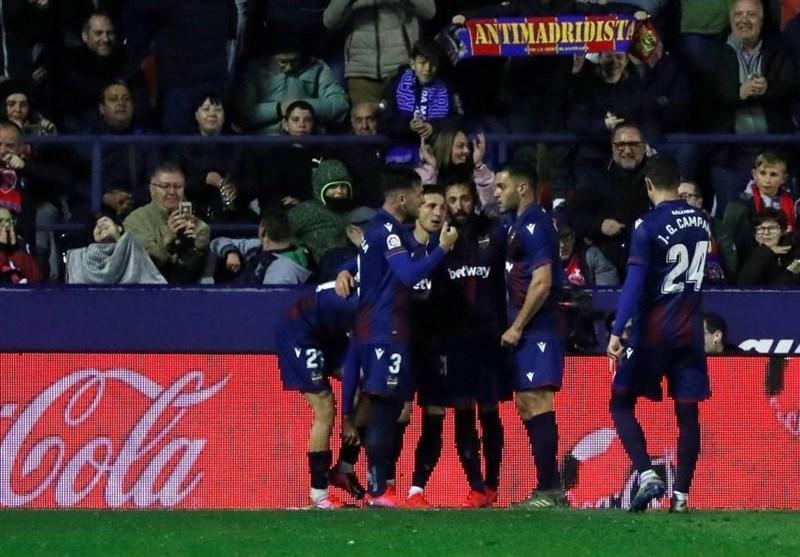 لالیگا، رئال مادرید با شکست مقابل لوانته به استقبال ال کلاسیکو رفت