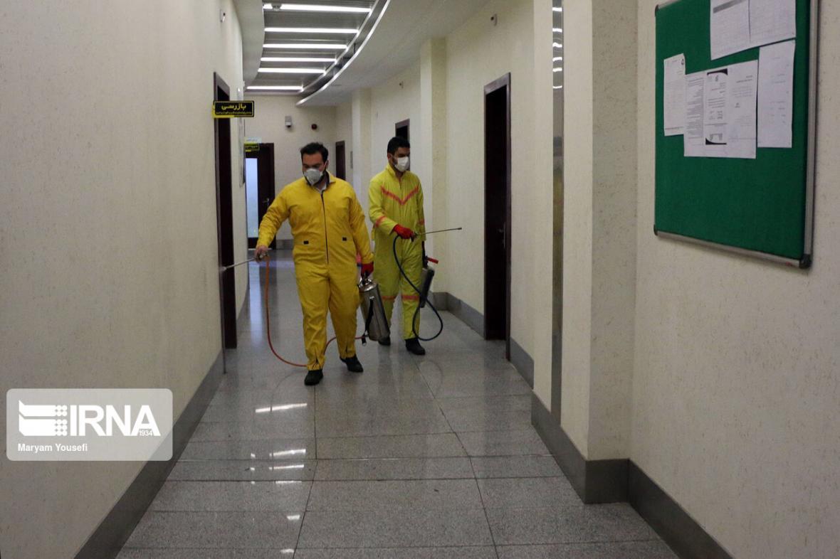خبرنگاران مراکز شبانه روزی بهزیستی چهارمحال و بختیاری روزانه ضدعفونی می گردد