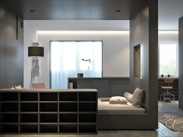 ایده های طراحی داخلی آپارتمان کوچک 33 متری - دکوراسیون مدرن در فضای کوچک