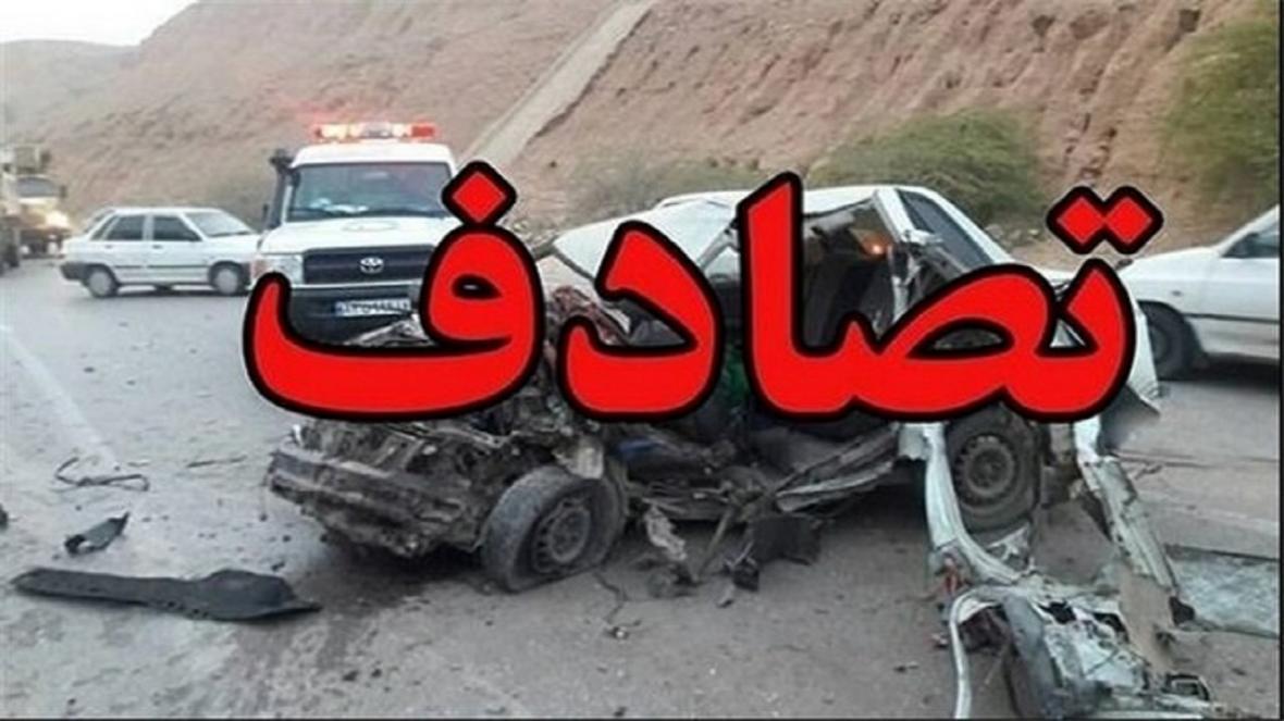 مصدومیت 3 نفر بر اثر تصادف چند خودرو در تهران