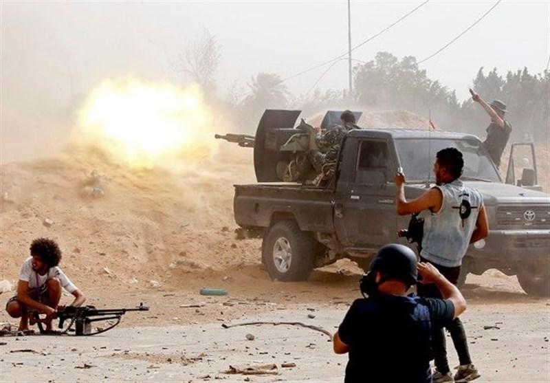 گزارشی از تحولات لیبی، نقشه میدانی جبهه های جنگ، اتاق مدیریت شبه نظامیان حفتر در ابوظبی و قاهره است