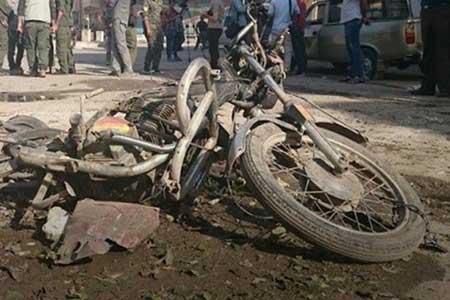 1 کشته و 15 مجروح بر اثر دو انفجار پیاپی در سوریه
