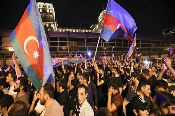 درگیری شهروندان آذربایجان و ارمنستان در مسکو