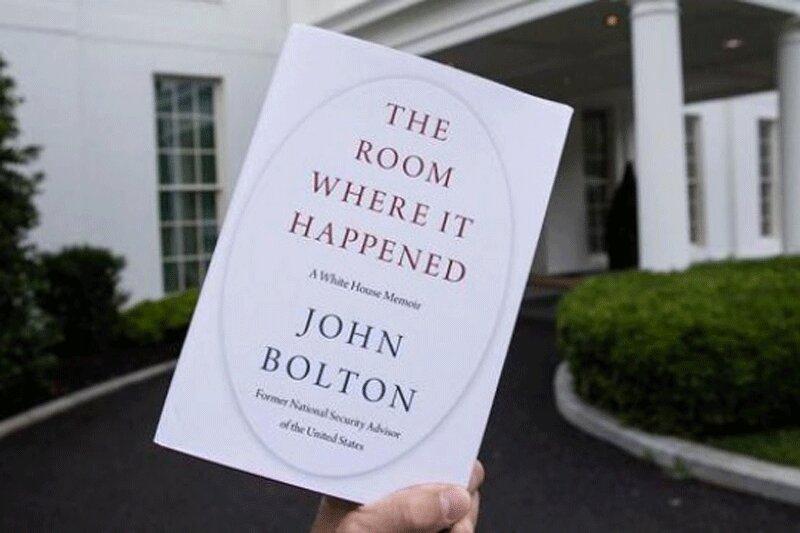 ببینید ، آغاز فروش کتاب جنجالی بولتون در کتاب فروشی های نیویورک