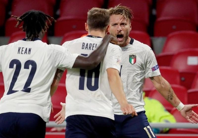 لیگ ملت های اروپا، ایتالیا اولین پیروزی اش را در خانه هلند کسب کرد، پیروزی قاطع نروژ با گل های هالند