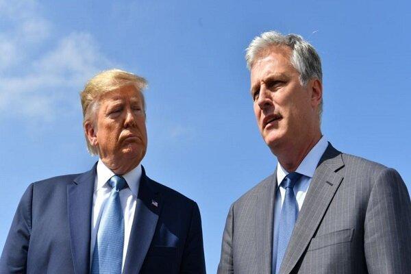واکنش کاخ سفید به ابتلای مشاور امنیت ملی ترامپ به کرونا