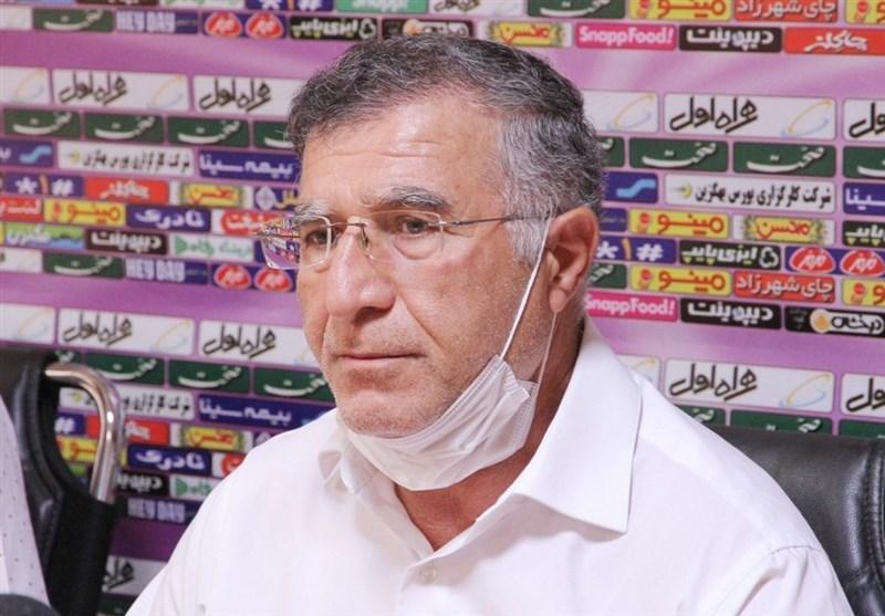 جلالی: صندلی الان مان به خاطر نتایج نیم فصل اول است، عقب نشینی تیم مان 2 دلیل داشت