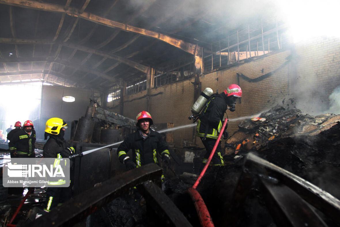 خبرنگاران 40 درصد ماموریت آتش نشانان سبزوار اطفاء حریق است