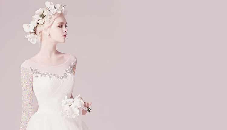 30 مدل لباس عروس یقه قایقی ظریف، زیبا و مینیمال