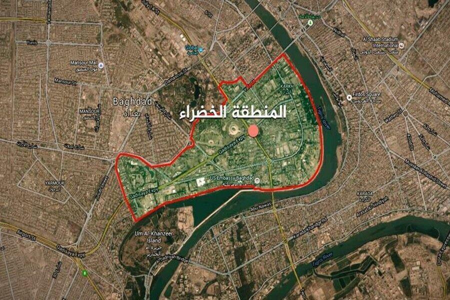 بیانیه رسمی عراق درباره حمله موشکی به سفارت آمریکا
