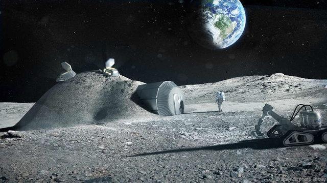 کشف تمدن های فرا زمینی با سفر به ماه