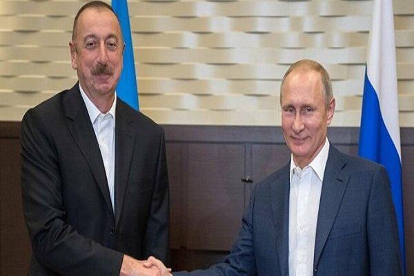 پوتین با سران جمهوری آذربایجان و ارمنستان تبادل نظر کرد
