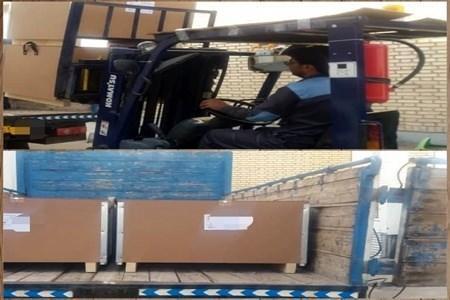 ارسال دستگاه های ونتیلاتور تنفسی و مانیتورینگ به دانشگاه های علوم پزشکی شیراز و بیرجند