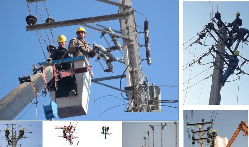 شبکه های توزیع برق سراسر کشور بازسازی می گردد، اصلاح بیش از 1300 کیلومتر شبکه