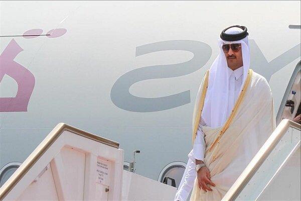 امیر قطر وارد عربستان سعودی شد