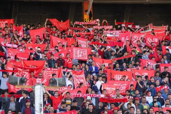 طرفداران تراکتور قهرمانی می خواهند