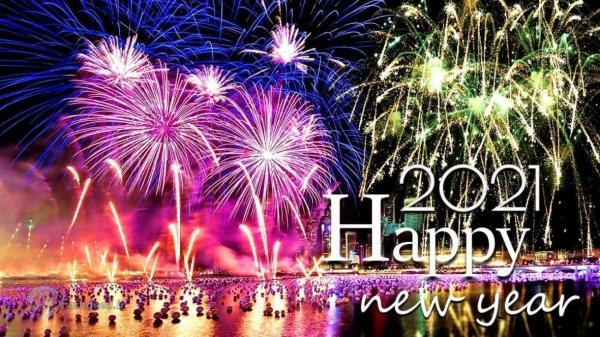 اس ام اس، متن زیبا و پیغام تبریک سال نو میلادی 2021