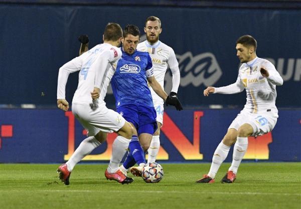 لیگ برتر کرواسی، دینامو زاگرب در خانه شکست خورد