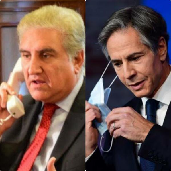 خبرنگاران وزیران خارجه پاکستان و آمریکا درباره افغانستان گفت وگو کردند