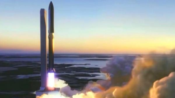 برج پرتاب و مهار استارشیپ یک گام تا راه اندازی