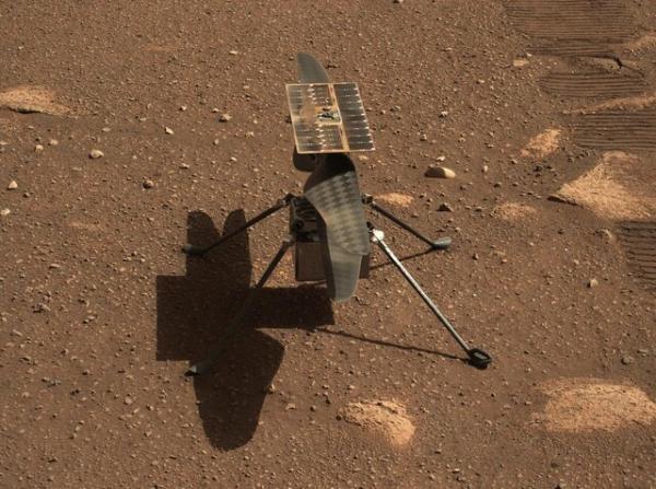 پرواز بالگرد مریخی نبوغ باز هم به تعویق افتاد