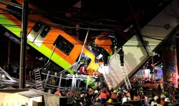 15 کشته در حادثه در متروی پایتخت مکزیک