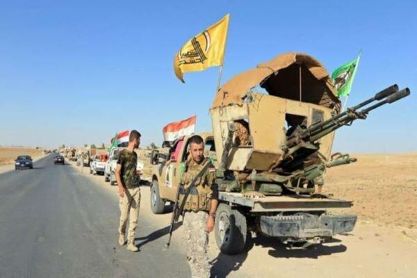 آماده باش کامل نیروهای حشد شعبی در غرب عراق