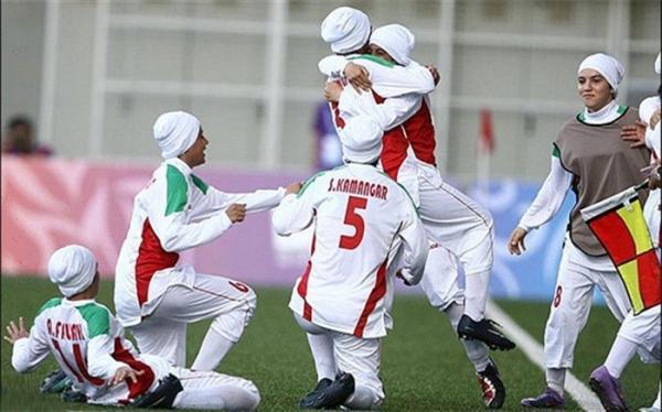 انتخابی جام ملت های زنان آسیا؛ ایران با جشنواره گل مدعی شد